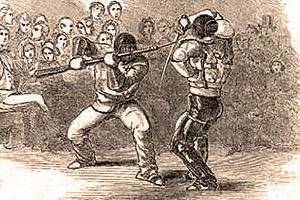 Bayonet vs sabre